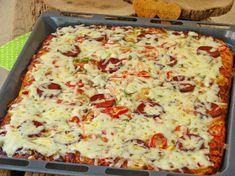 Minced egg Karadeniz Pita Recipe, How? Pita Recipes, Cooking Recipes, Hawaiian Pizza, Food Pictures, Lasagna, Quiche, Macaroni And Cheese, Hamburger, Bakery
