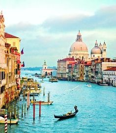 I couldn't live in Venice. I'd want to jump in the water every day, but I don't think it's safe for swimming.