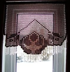 Create filet crochet patterns on your PC, then print your design and wall hanging, a dragonfly table topper and summer day curtains are just a few of the patterns Cover: Filet Crochet Curtains. Description from crochetp.com. I searched for this on bing.com/images
