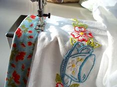 what to do with old embroidery - Google Search