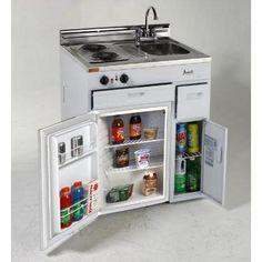 Avanti Ck3016 Complete Compact Kitchen With Refrigerator - Walmart.com