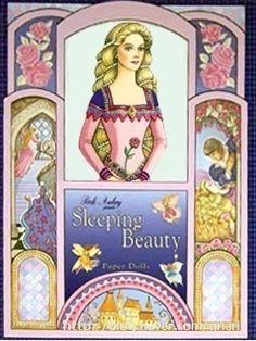 Sleeping Beauty Paper Dolls by Peck-Gandre (1 of 16)