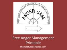 Free Anger Management Printable Activity « The Helpful Counselor