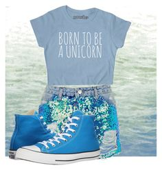 """Water In August"" by lowkeybrenny on Polyvore featuring Art Classics, Topshop and Converse"