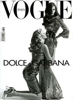 COVER isabeli fontana lara stone: VOGUE ITALIA by lenouveau Black and White