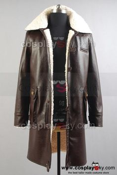 Bat Man The Dark Knight Rises Bane Costume Coat,Tailor made in your own measurements.
