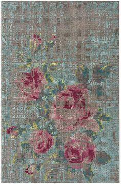 Canevas Flowers - Charlotte Lancelot - GAN-Rugs