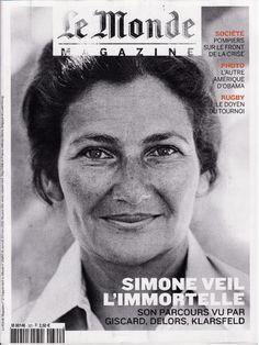 Simone Veil une femme et une femme politique d'exception