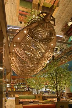Details of the overall and category winners, and images of the winning projects, from the sixth year of the Restaurant and Bar Design Awards in Exterior Design, Interior And Exterior, Steampunk Ship, Restaurant Trends, Bar Design Awards, Bamboo House, Junk Art, Dieselpunk, Scale Models