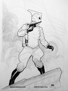 The Rocketeer by Frank Cho