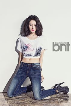 T-Ara Ji Yeon - bnt International May 2014
