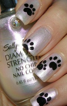 20 Easy Nail Designs You Need to Try – Latest Nail Art Trends & Ideas 20 Simple Nail Designs You need to get your nails done.[Read the Rest] Fancy Nails, Trendy Nails, Cute Nails, Crazy Nails, Simple Nail Designs, Nail Art Designs, Pretty Designs, Nail Designs For Kids, Animal Nail Designs