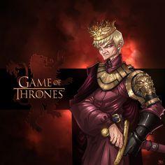 Game of Thrones: Joffrey Baratheon by Bing-Ratnapala.deviantart.com on @deviantART