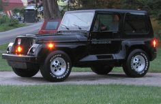 Jeep YJ Wrangler Renegade pictures - Jeeps