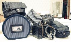 """""""As early as I can remember I've lusted after my mother's CHANEL bags. As soon as I could get my hands on one, I had one... and the collecting began!"""" - Kelly Osbourne"""