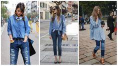 Como usar: jeans com jeans | Irmãs Reis