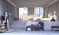 Kitchen Background, Living Room Background, 2d Game Background, Episode Interactive Backgrounds, Episode Backgrounds, Bedroom Night, Bedroom Loft, Casa Anime, Room Goals