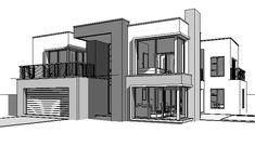 52 Ideas House Design Plans South Africa For 2019 4 Bedroom House Designs, 4 Bedroom House Plans, Ranch House Plans, Dream House Plans, House Floor Plans, Contemporary House Plans, Modern House Plans, Double Storey House Plans, House Plans South Africa