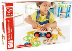 Amazon.com: Hape Basic Builder Set: Toys & Games