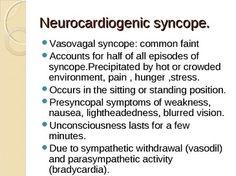 Neurocardiogenic syncope: explained.