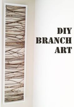 Pin this project on Pinterest to read later! Are you looking for a cheap art project to do with the branches found in your yard? Good, you've come to the right