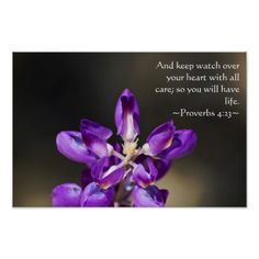 Proverbs 4:23 print from Scripture Classics #zazzle #gift #photogift #Christian