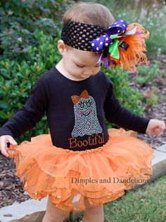 So in love with the bow and tutu!