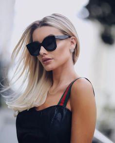 Summer Hairstyles For Medium Hair, Summer Haircuts, Pretty Hairstyles, Black Sunglasses, Sunglasses Women, Bianca Petry, Medium Hair Styles, Long Hair Styles, Summer Braids