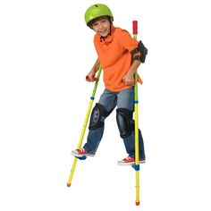 Kids will love to learn to walk on the adjustable height stilts from this Alex Ready, Set, Stilts! Manufactured by Alex Toys. Recommended for 5 years, 6 years, 7 years, 8 years, 9 years, 10 years+.