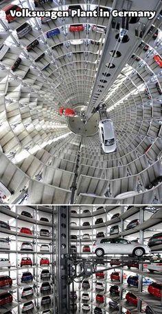 Volkswagen plant in Germany