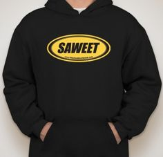 The official SAWEET HOODIES and SAWEET T-SHIRTS are finally here and available in the Saweet Store.  Click on the link BUY SALTWATER TAFFY above and get yours today.  Since the SAWEET sticker was the hottest sticker on the Saltwater Taffy book tou