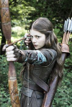 Miranda, Ramsay's girlfriend- Game of Thrones, season 4, episode 2