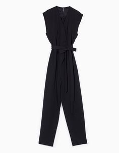 Stradivarius Colombia Mono cruzado largo - BLACK & WHITE - MUJER |   #MomentoExtraordinario Reebok, Jumpsuit Outfit, Diana, Dresses For Work, Sneakers, Blog, How To Wear, Outfits, June