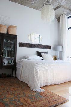 interior design, bedroom decor, beds, bedroom retreat, loft bedrooms, headboards, ceilings, carved wood, apartments