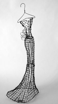 Wire Couture by Leigh Pennebaker - #Art