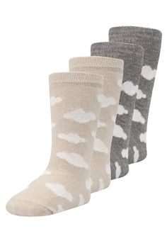 Chaussettes & Collants Ewers WOLKEN ALLOVER 4 PACK - Chaussettes hautes - dust/grau meliert gris chiné: SFr. 17.00 chez Zalando (au 25.01.18). Livraison et retours gratuits et service client gratuit au 0800 890 223.