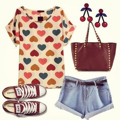❤❤ Hearts = Sweet ❤❤ #breakicetrends #outfit