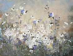 Wild Flowers Painting - Spring Gardens by Laura Lee Zanghetti Easy Flower Painting, Garden Painting, Flower Art, Art Flowers, Wild Flowers, Laura Lee, Watercolor Flowers, Watercolor Art, Laurence Amelie