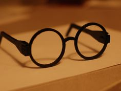 Harry Potter Glasses by Tunell - Thingiverse
