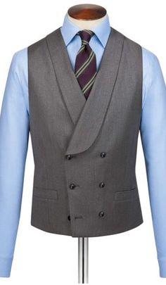 Designer Clothes For Men, Designer Clothing, Double Breasted Waistcoat, Vest Coat, Vest Pattern, Men's Coats And Jackets, My Images, Men's Fashion, Death