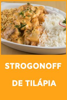 Want an original and delicious dish idea for Good Friday? Try this Tilapia Stroganoff. Home Recipes, Fish Recipes, Mexican Food Recipes, Salad Recipes, Food L, Good Food, Ra Diet, Fish Tacos With Cabbage, Carne