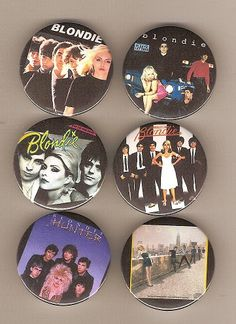 From David Harper, UK. Badges are 32mm in size and the pictures have come from CD covers as the sides are squared off like the Autoamerican cover.