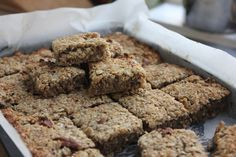 With no dairy, wheat, gluten or sugar, these banana pecan flapjacks are probably…
