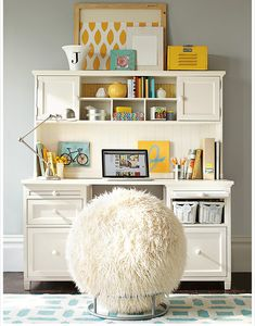 pottery barn teen desk chair - Pottery Barn Teen Desk Chair - Best Home Office Desk, pottery barn teen desk chairs ideas to decorate desk check more at Smart Desk, Teen Desk, Desk Inspiration, Ball Chair, Decoration Bedroom, Study Rooms, Study Space, Desk Space, Gaming Desk