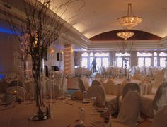 waters edge westbrook ct royal ballroom | The Royal Ballroom at Water's Edge looked ready for a grand party when ...