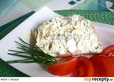 Sýrová pomazánka s jogurtem Party Snacks, Coconut Flakes, Feta, Potato Salad, Cabbage, Spices, Cooking Recipes, Bread, Cheese