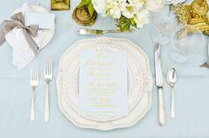 Table Setting // Place Setting // Chic Amalfi Wedding Inspiration | Sarah Love Photography | Bridal Musings Wedding Blog 12