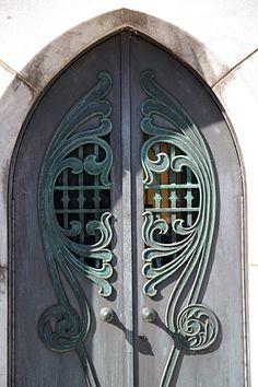 Crypt Door, Bonaventure Cemetery, Savannah, Georgia