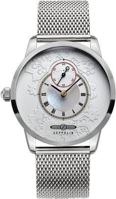 Zeppelin Watch Viktoria Luise Lady #bezel-fixed #bracelet-strap-steel #brand-zeppelin #case-depth-6mm #case-material-steel #case-width-35mm #classic #delivery-timescale-call-us #dial-colour-silver #gender-ladies #movement-quartz-battery #official-stockist-for-zeppelin-watches #packaging-zeppelin-watch-packaging #style-dress #subcat-viktoria-luise-lady #supplier-model-no-7335m-1 #warranty-zeppelin-official-2-year-guarantee #water-resistant-50m