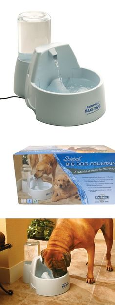 Drinkwell Big-Dog Pet Fountain - The Drinkwell® Big-Dog Fountain was designed by a veterinarian specifically for large dogs. The Drinkwell® Big-Dog holds well over two gallons of water, making it the largest capacity pet fountain o... - Ships Fast, Ships Free - Pet Supplies - $64.99